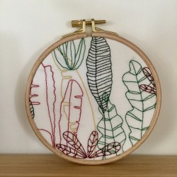 Broderie Plantes